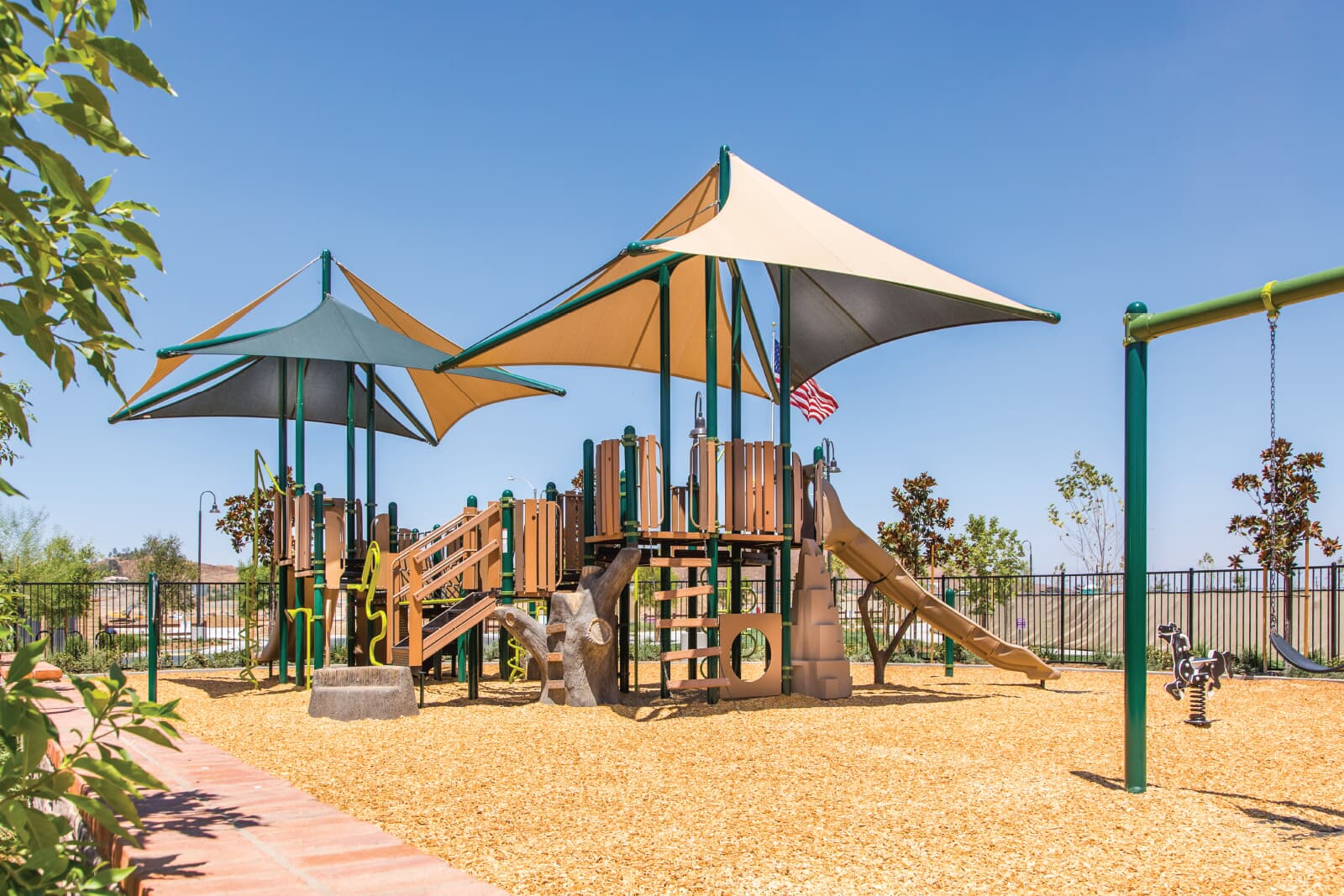 The Ranch House Playground | Audie Murphy Ranch in Menifee, CA | Brookfield Residential