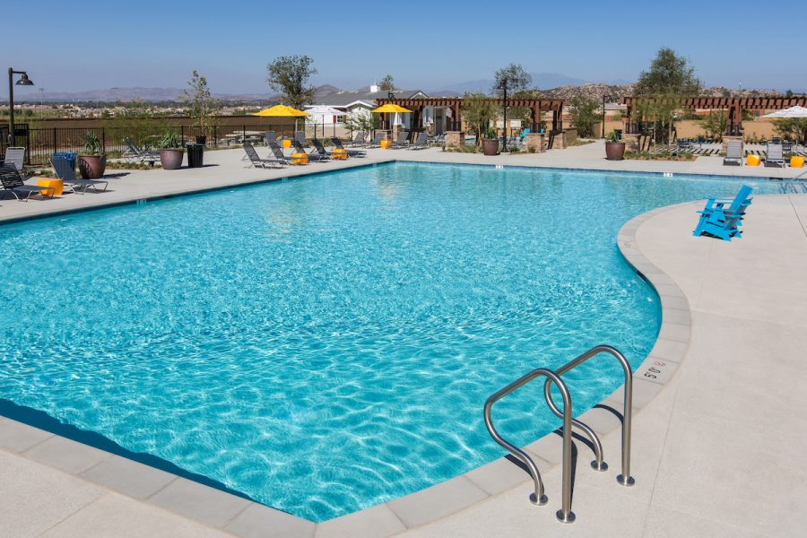 Pool at Audie Murphy Ranch in Menifee, CA | Brookfield Residential