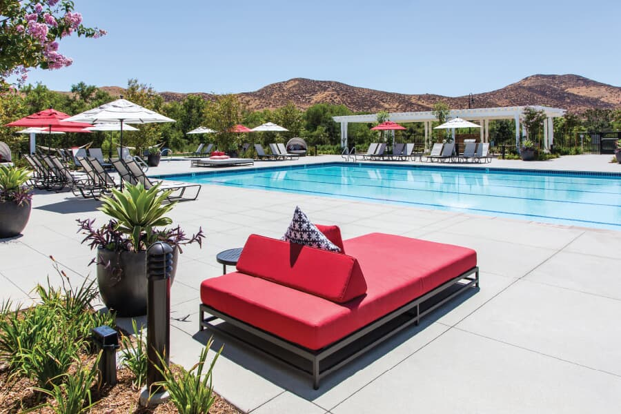 The Ranch House Pools | Audie Murphy Ranch in Menifee, CA | Brookfield Residential