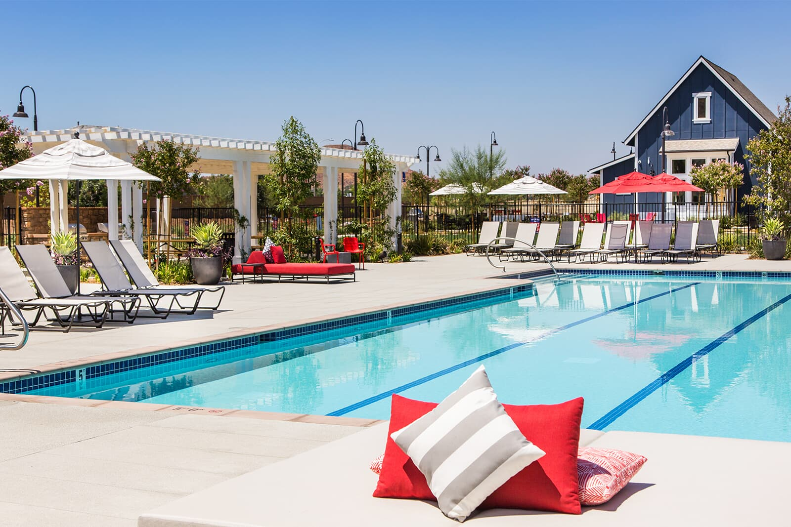 Pool | Audie Murphy Ranch in Menifee, CA | Brookfield Residential