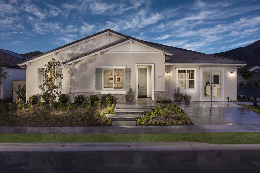 Plan 1 exterior | Savannah at Audie Murphy Ranch in Menifee, CA | Brookfield Residential