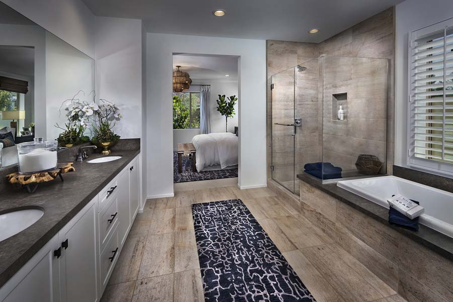 Plan 2 bathroom | Savannah at Audie Murphy Ranch in Menifee, CA | Brookfield Residential