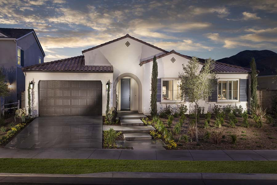 Plan 2 exterior | Savannah at Audie Murphy Ranch in Menifee, CA | Brookfield Residential
