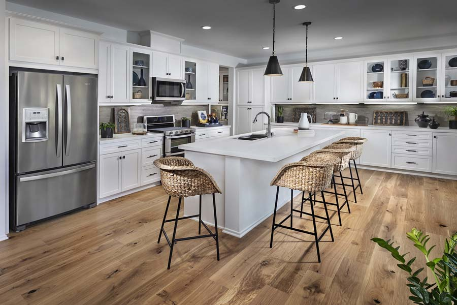 Plan 2 kitchen | Savannah at Audie Murphy Ranch in Menifee, CA | Brookfield Residential