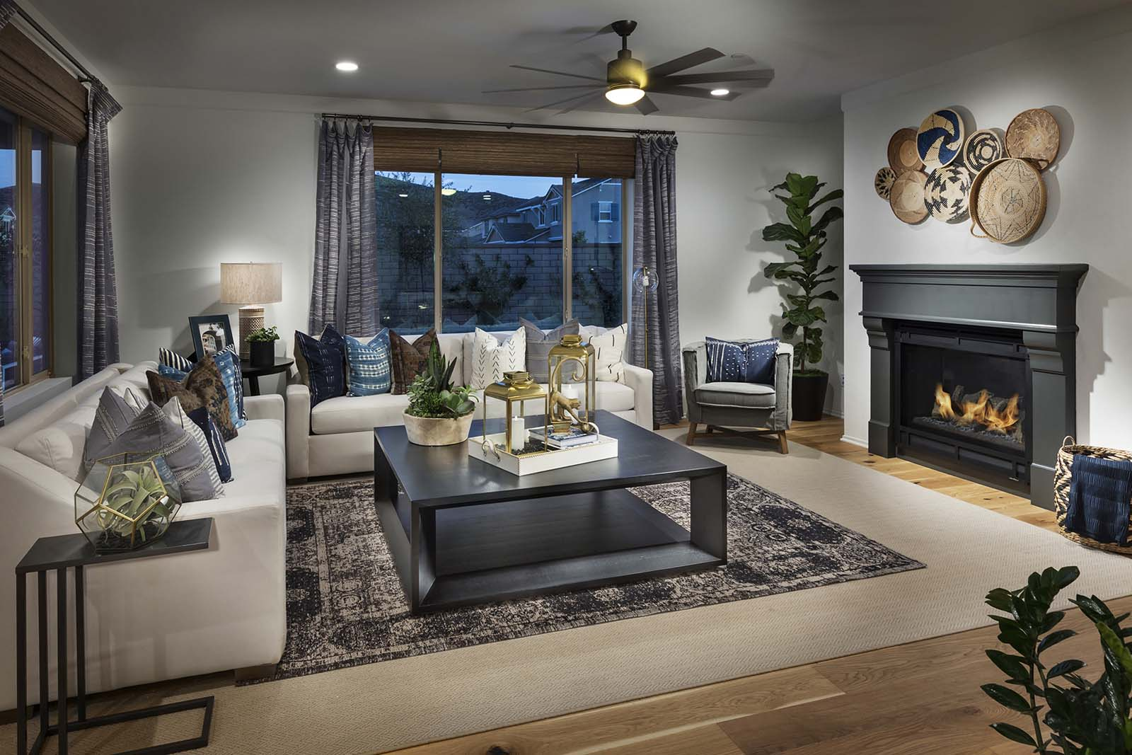 Plan 2 living room | Savannah at Audie Murphy Ranch in Menifee, CA | Brookfield Residential