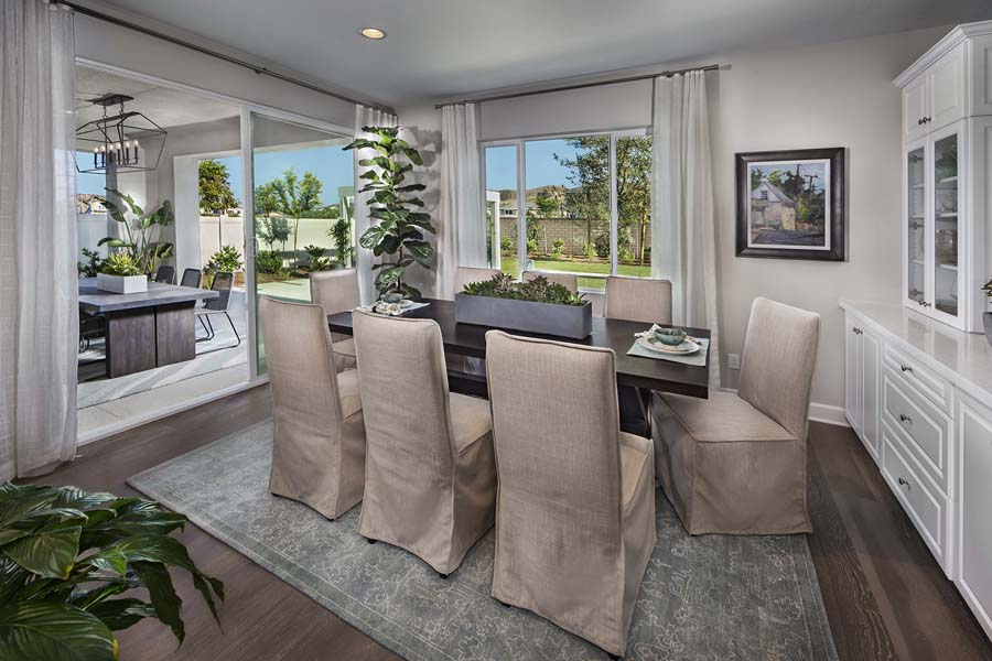 Plan 3 dining room | Savannah at Audie Murphy Ranch in Menifee, CA | Brookfield Residential