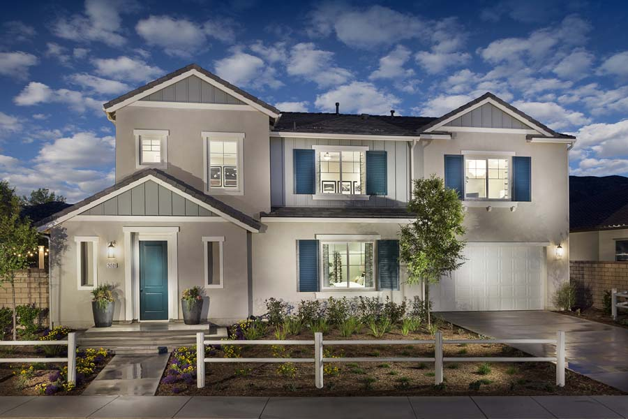 Plan 3 exterior | Savannah at Audie Murphy Ranch in Menifee, CA | Brookfield Residential