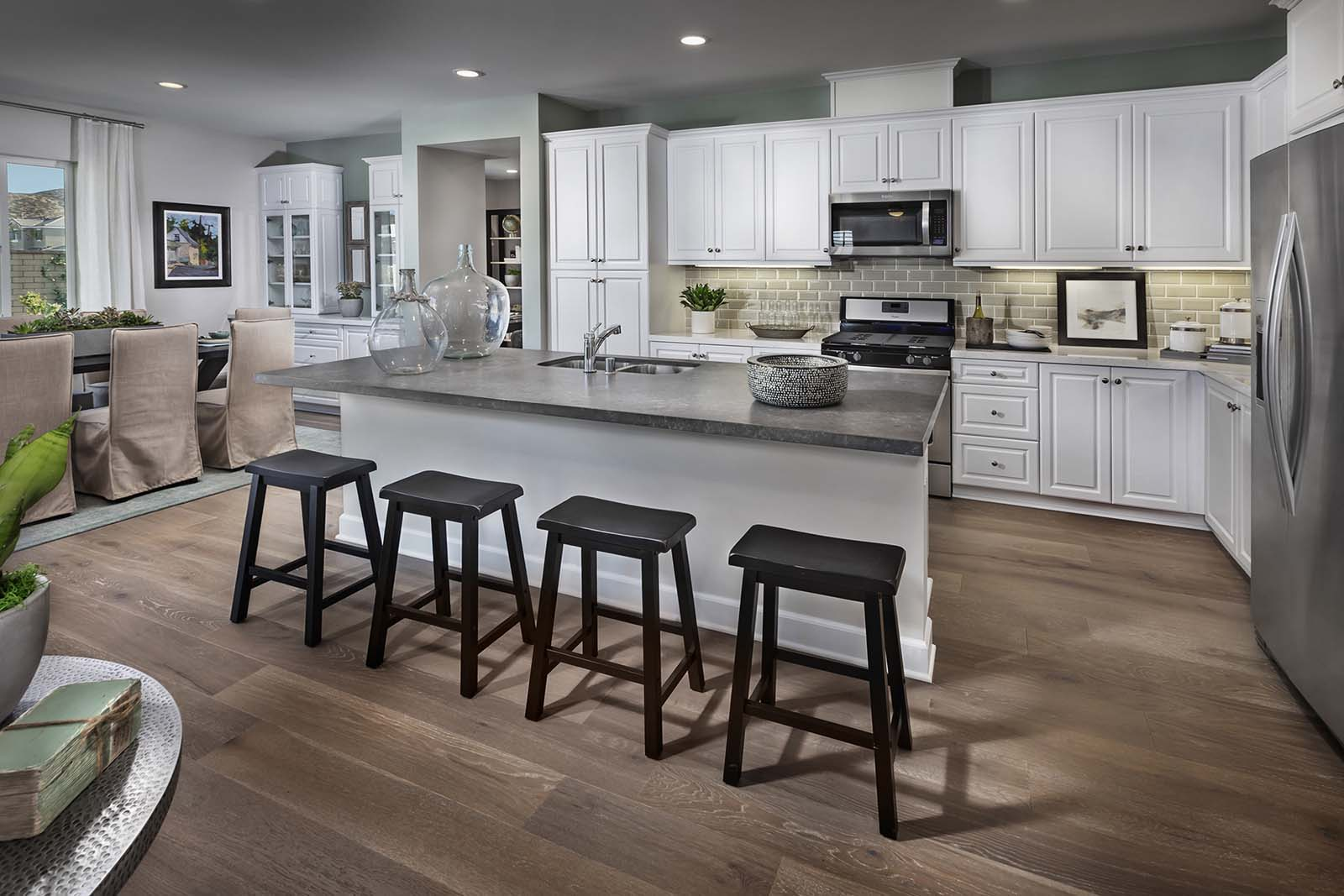 Plan 3 kitchen | Savannah at Audie Murphy Ranch in Menifee, CA | Brookfield Residential