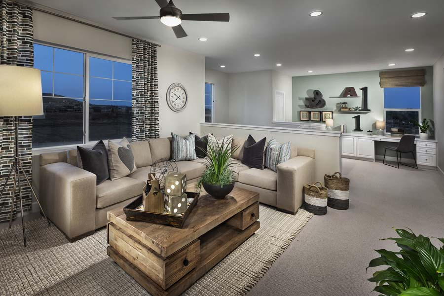 Plan 3 loft | Savannah at Audie Murphy Ranch in Menifee, CA | Brookfield Residential