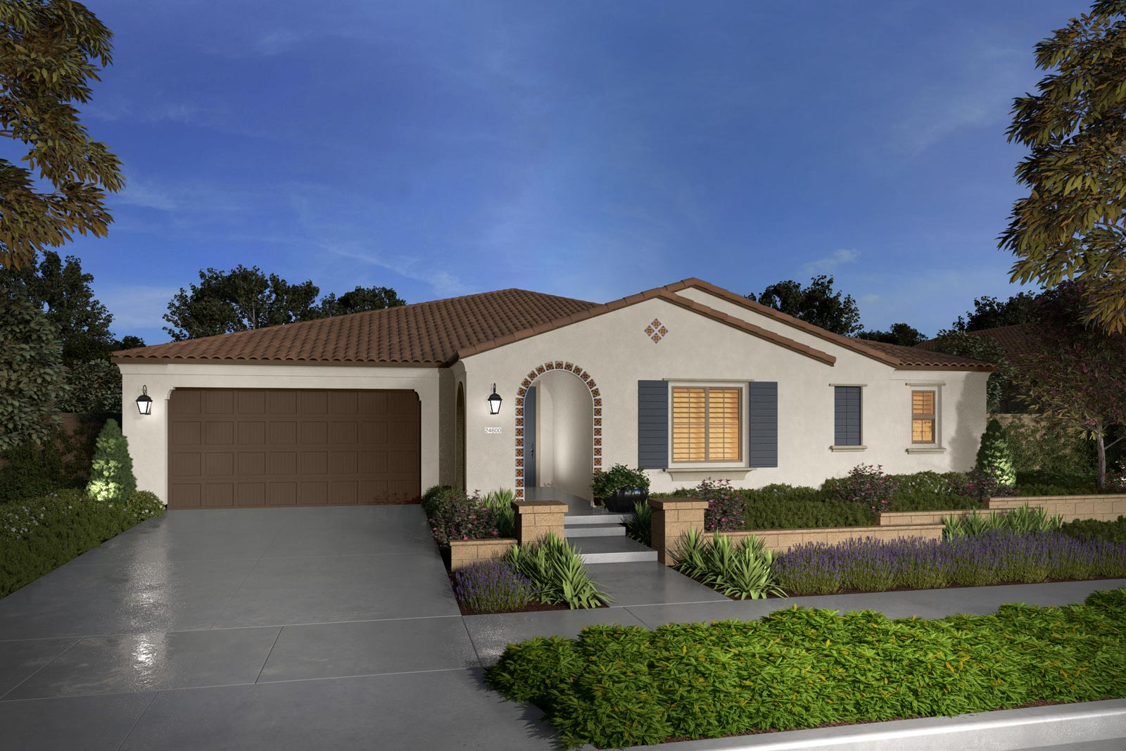 Plan 4A rendering | Savannah at Audie Murphy Ranch in Menifee, CA | Brookfield Residential