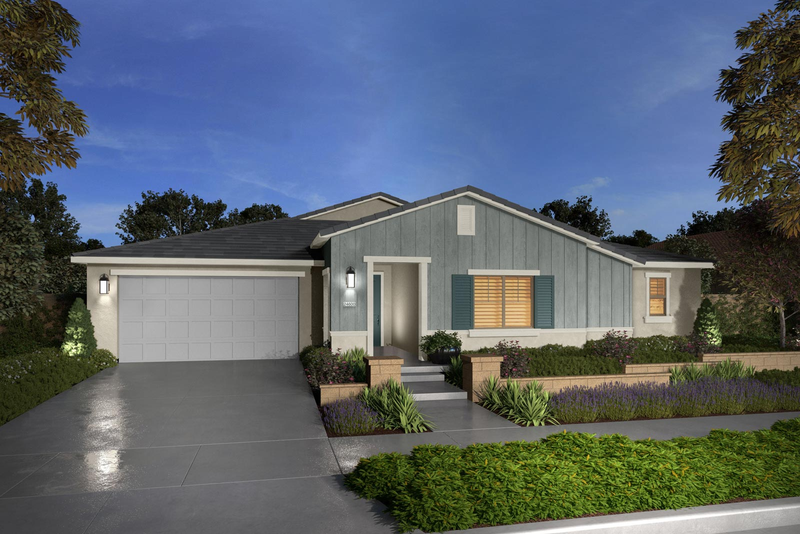 Plan 4B rendering | Savannah at Audie Murphy Ranch in Menifee, CA | Brookfield Residential