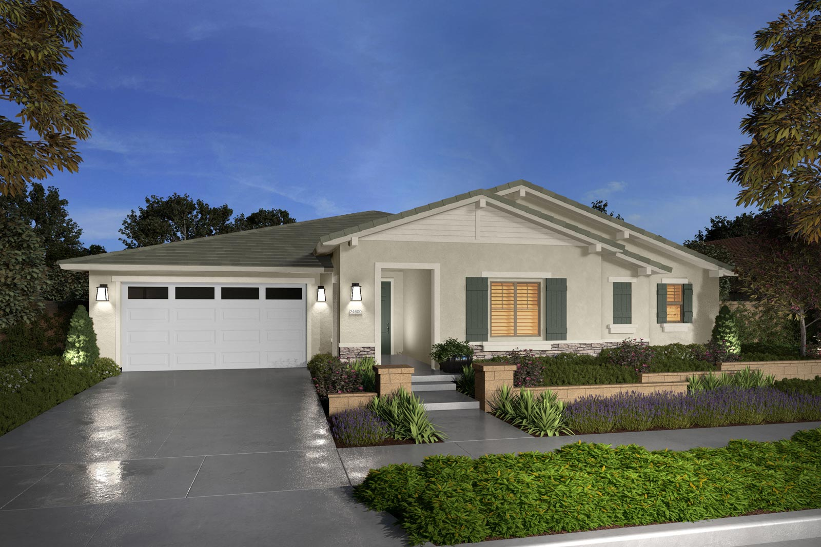 Plan 4C rendering | Savannah at Audie Murphy Ranch in Menifee, CA | Brookfield Residential