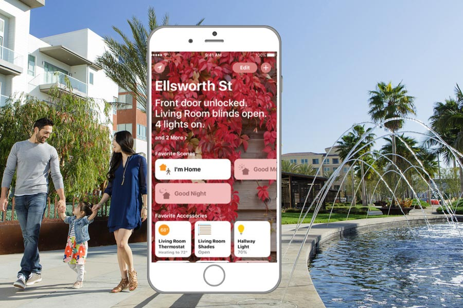 Apple Home app for connected homes | Brookfield Residential