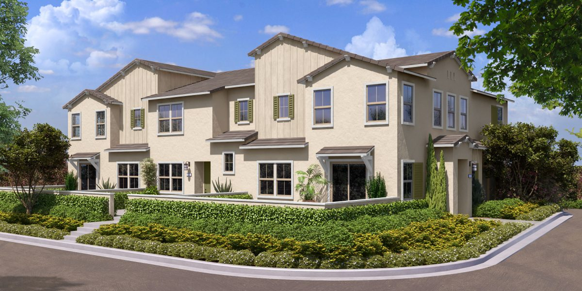 Rendering 1A | Flora at The Village of Escaya in Chula Vista, CA | Brookfield Residential