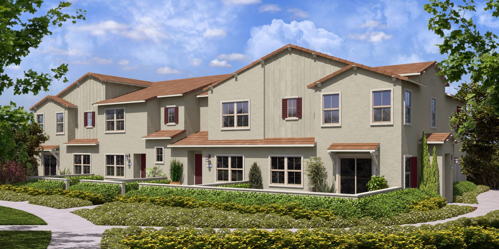 Rendering 2 | Flora at The Village of Escaya in Chula Vista, CA | Brookfield Residential