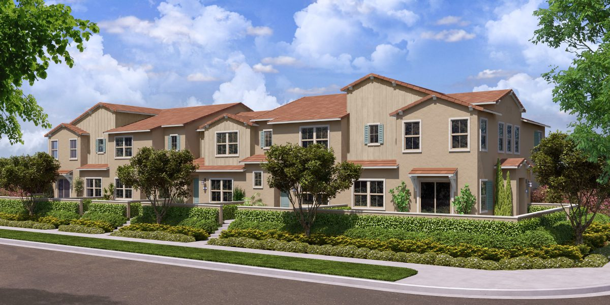 Rendering 3A | Flora at The Village of Escaya in Chula Vista, CA | Brookfield Residential