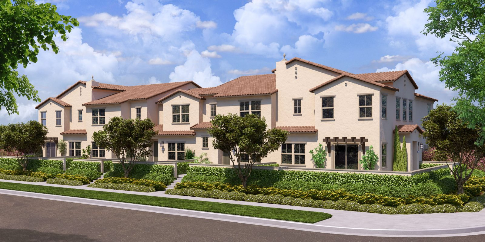 Rendering 3B | Flora at The Village of Escaya in Chula Vista, CA | Brookfield Residential
