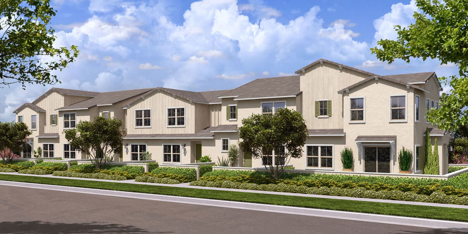 Rendering 4A | Flora at The Village of Escaya in Chula Vista, CA | Brookfield Residential
