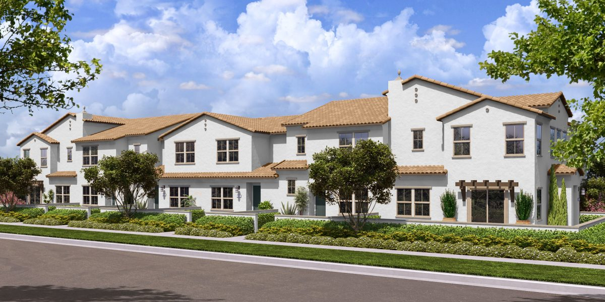 Rendering 4B | Flora at The Village of Escaya in Chula Vista, CA | Brookfield Residential