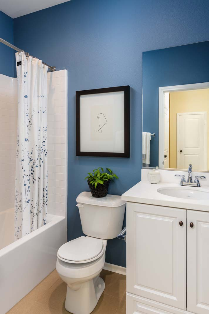 Bath 2 Residence 1 | Flora at the Village of Escaya in Chula Vista, CA | Brookfield Residential