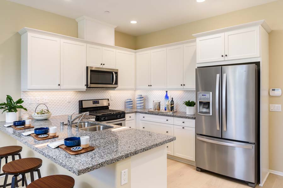Kitchen Residence 1 | Flora at the Village of Escaya in Chula Vista, CA | Brookfield Residential