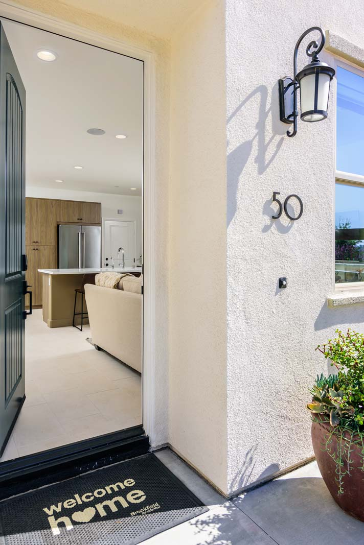 Entry Residence 2 | Flora at the Village of Escaya in Chula Vista, CA | Brookfield Residential