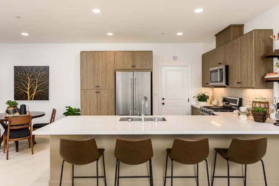 Kitchen Residence 2 | Flora at the Village of Escaya in Chula Vista, CA | Brookfield Residential