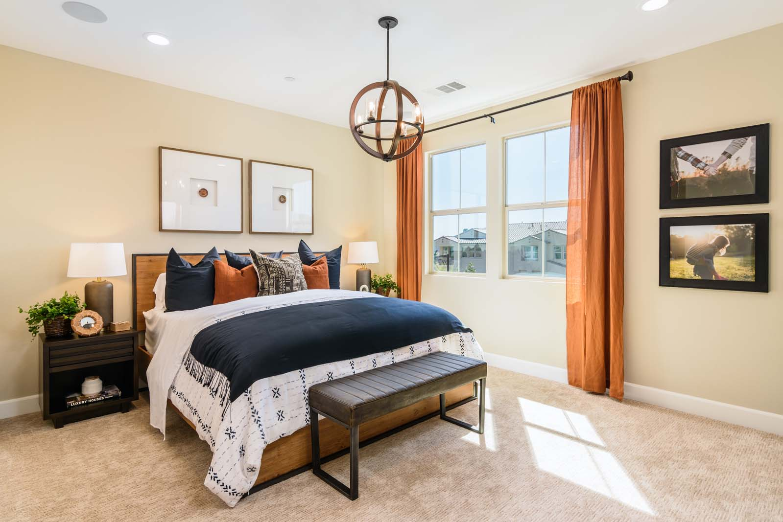 Master Bedroom Residence 2 | Flora at the Village of Escaya in Chula Vista, CA | Brookfield Residential