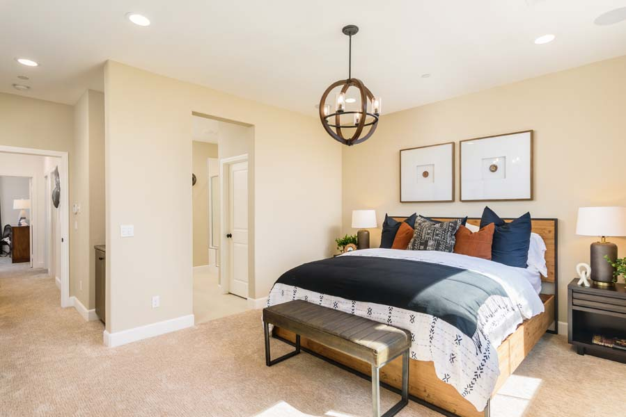 Master Bedroom to Bath Residence 2 | Flora at the Village of Escaya in Chula Vista, CA | Brookfield Residential