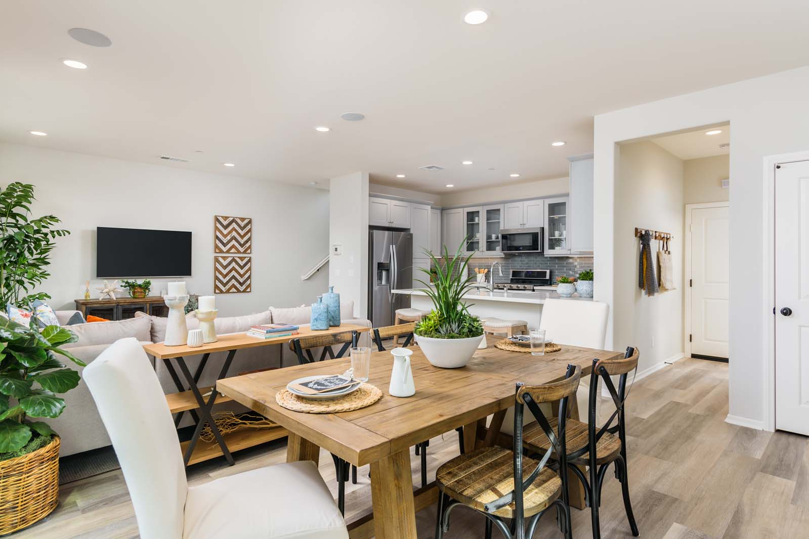 Dining to Great Room 3 Residence 3 | Flora at the Village of Escaya in Chula Vista, CA | Brookfield Residential