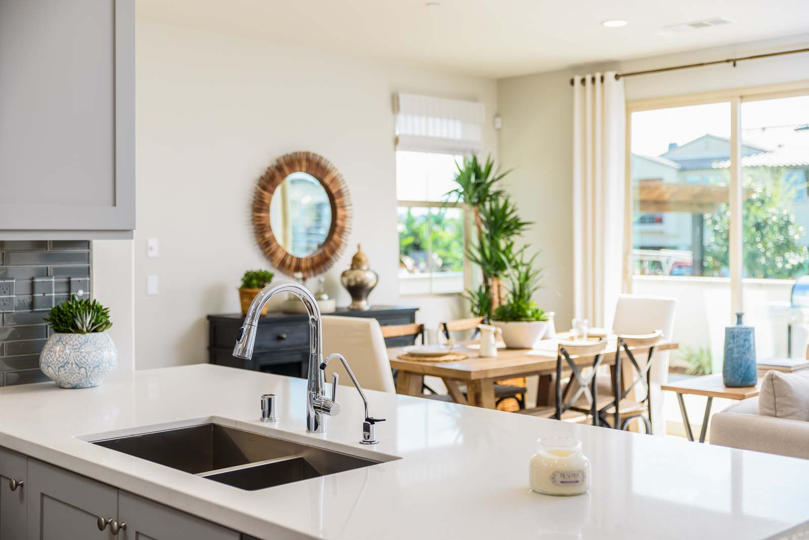 Kitchen Sink Residence 3 | Flora at the Village of Escaya in Chula Vista, CA | Brookfield Residential