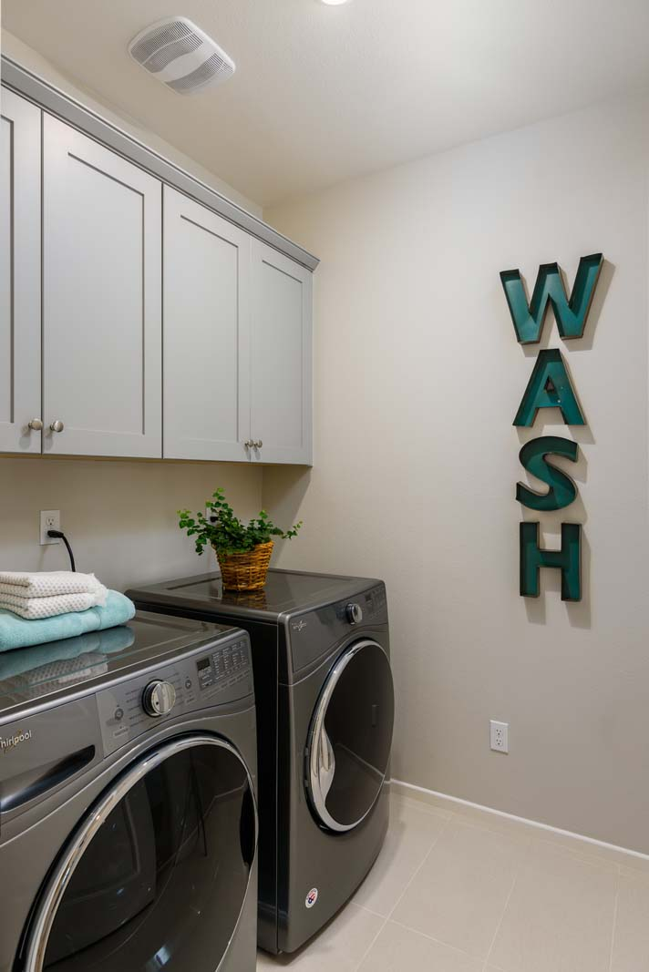 Laundry Residence 3 | Flora at the Village of Escaya in Chula Vista, CA | Brookfield Residential