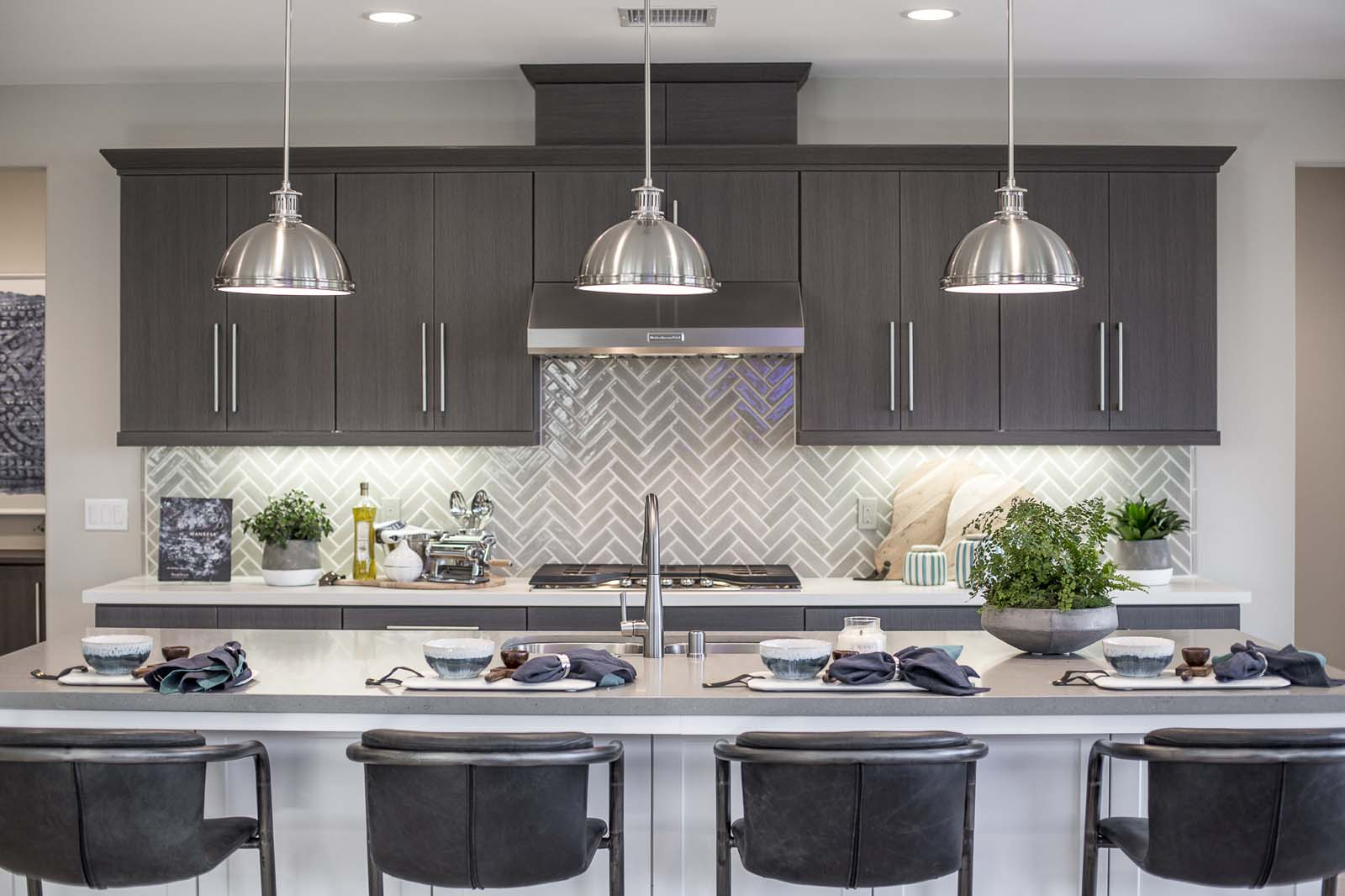 Kitchen Detail Residence 1 | Haciendas at the Village of Escaya in Chula Vista, CA | Brookfield Residential