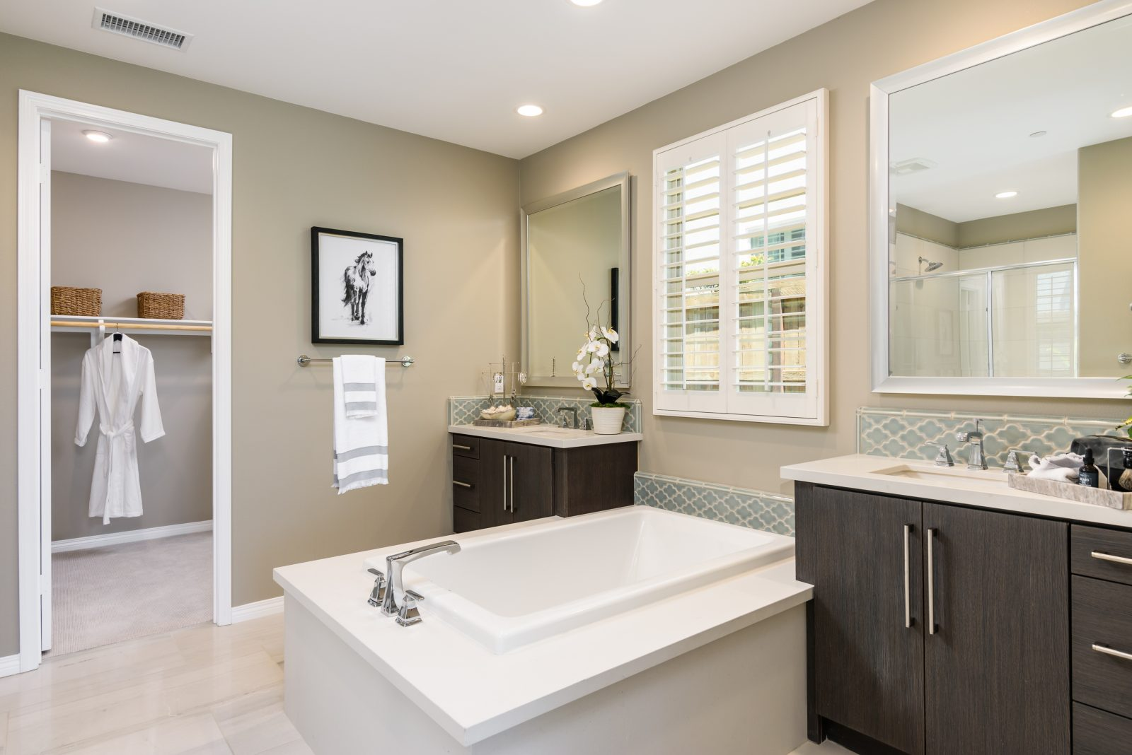 Master Bathroom | Haciendas at The Village of Escaya in Chula Vista, CA | Brookfield Residential