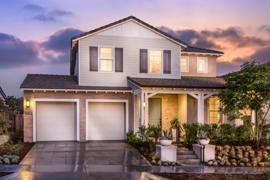 Residence 1 Exterior | Haciendas at the Village of Escaya in Chula Vista, CA | Brookfield Residential