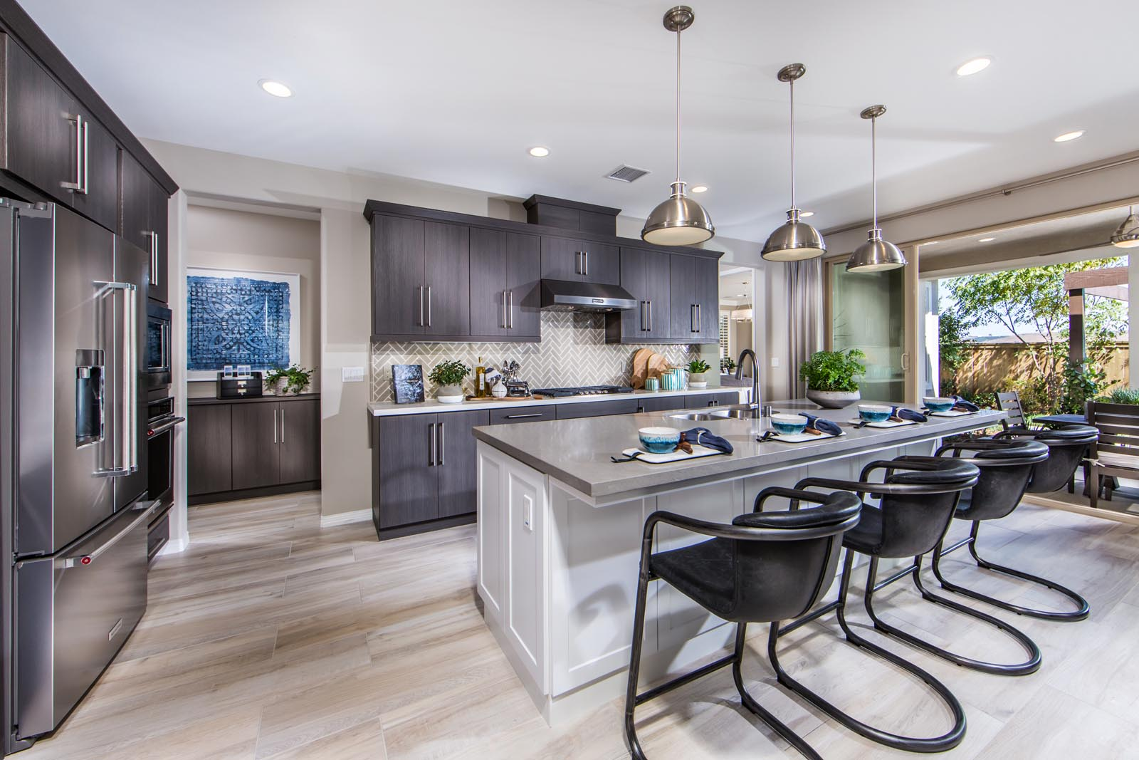 Residence 1 Kitchen | Haciendas at the Village of Escaya in Chula Vista, CA | Brookfield Residential