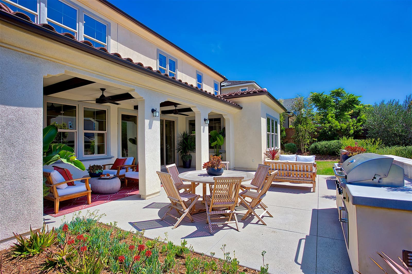 Residence 2 Back Yard | Haciendas at the Village of Escaya in Chula Vista, CA | Brookfield Residential