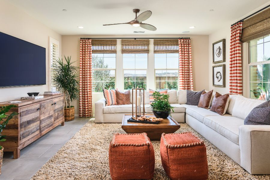 Family Room | Haciendas at The Village of Escaya in Chula Vista, CA | Brookfield Residential