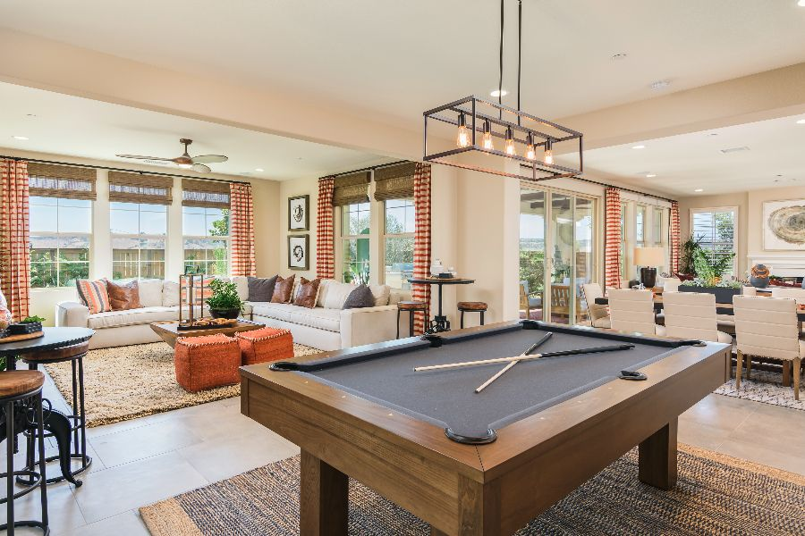 Lounge | Haciendas at The Village of Escaya in Chula Vista, CA | Brookfield Residential