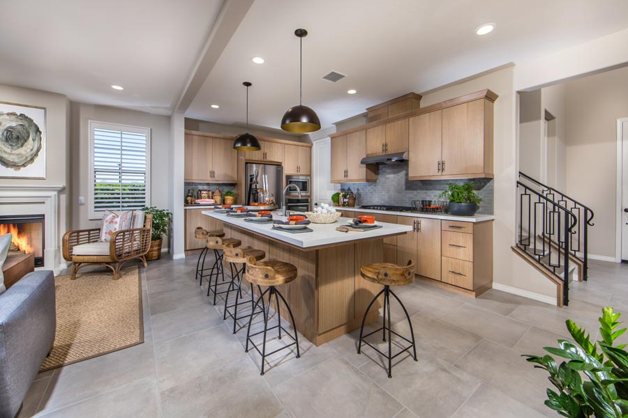 Residence 2 Kitchen | Haciendas at the Village of Escaya in Chula Vista, CA | Brookfield Residential