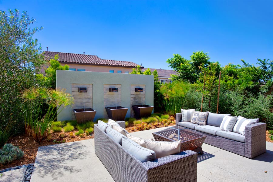 Residence 3 Back Yard | Haciendas at the Village of Escaya in Chula Vista, CA | Brookfield Residential