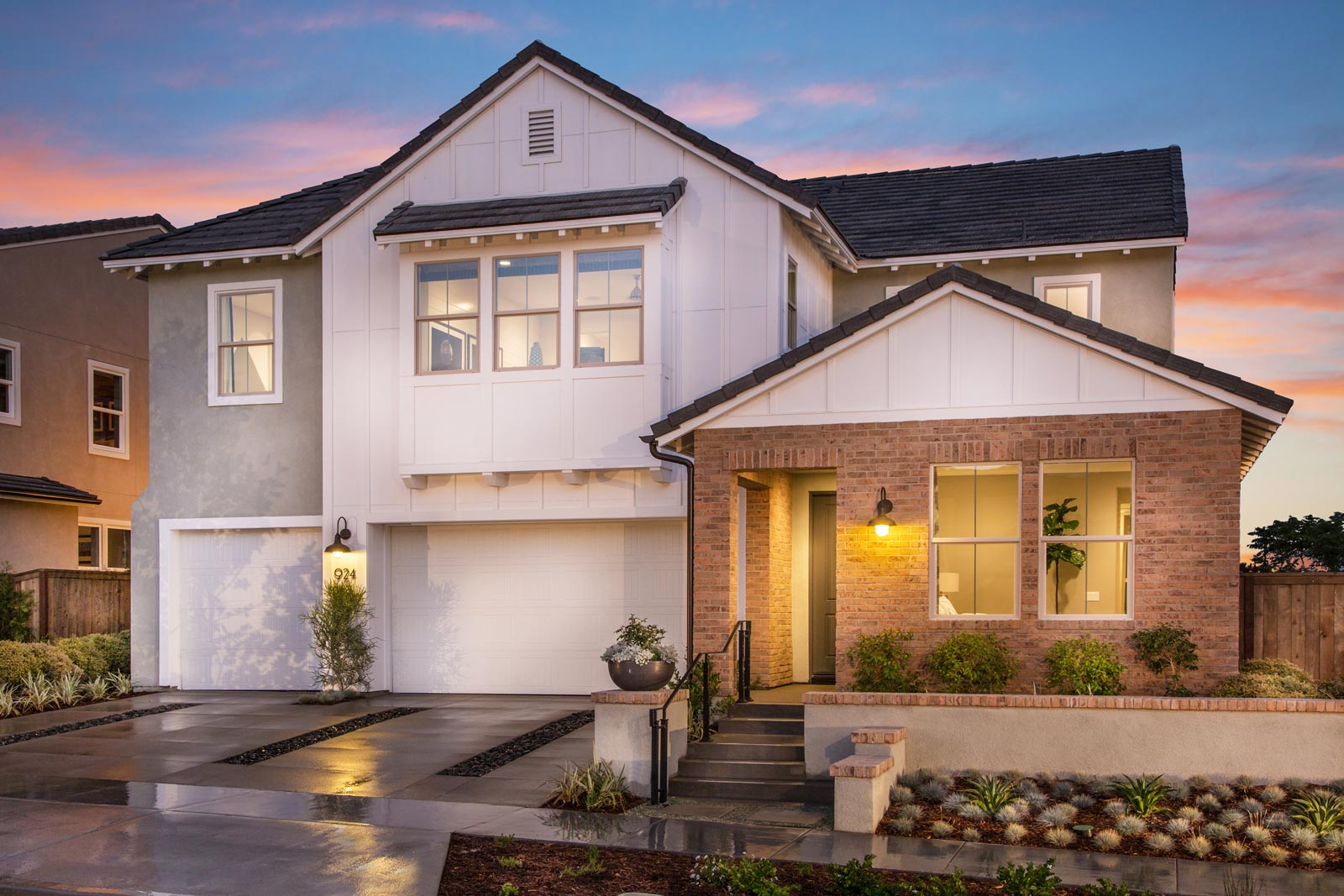 Residence 3 Exterior | Haciendas at the Village of Escaya in Chula Vista, CA | Brookfield Residential
