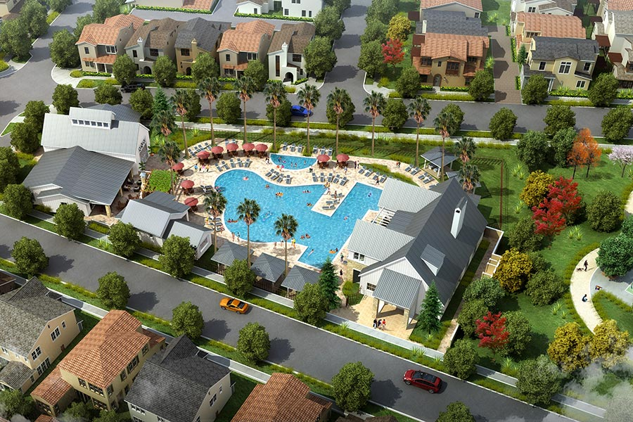 Swim Club & Lifestyle Center | The Village of Escaya in Chula Vista, CA | Brookfield Residential