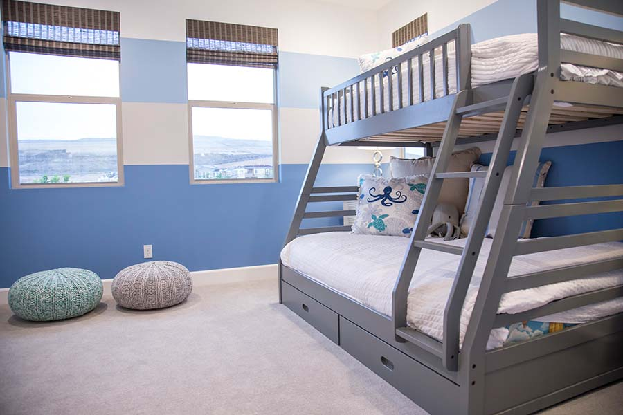 Kids Bedroom Detail | Prado at the Village of Escaya in Chula Vista, CA | Brookfield Residential