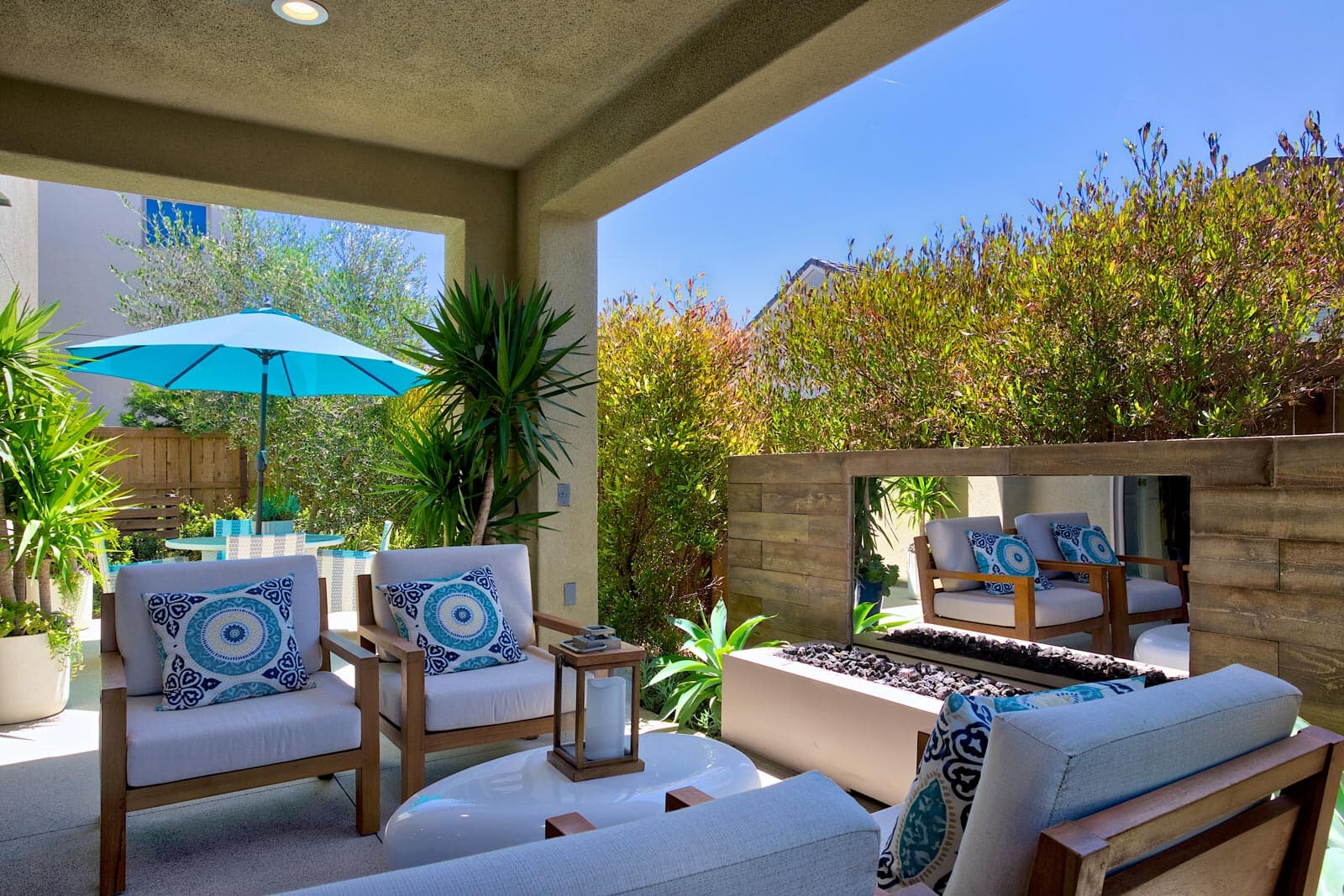 Residence 1 Back Yard | Prado at the Village of Escaya in Chula Vista, CA | Brookfield Residential