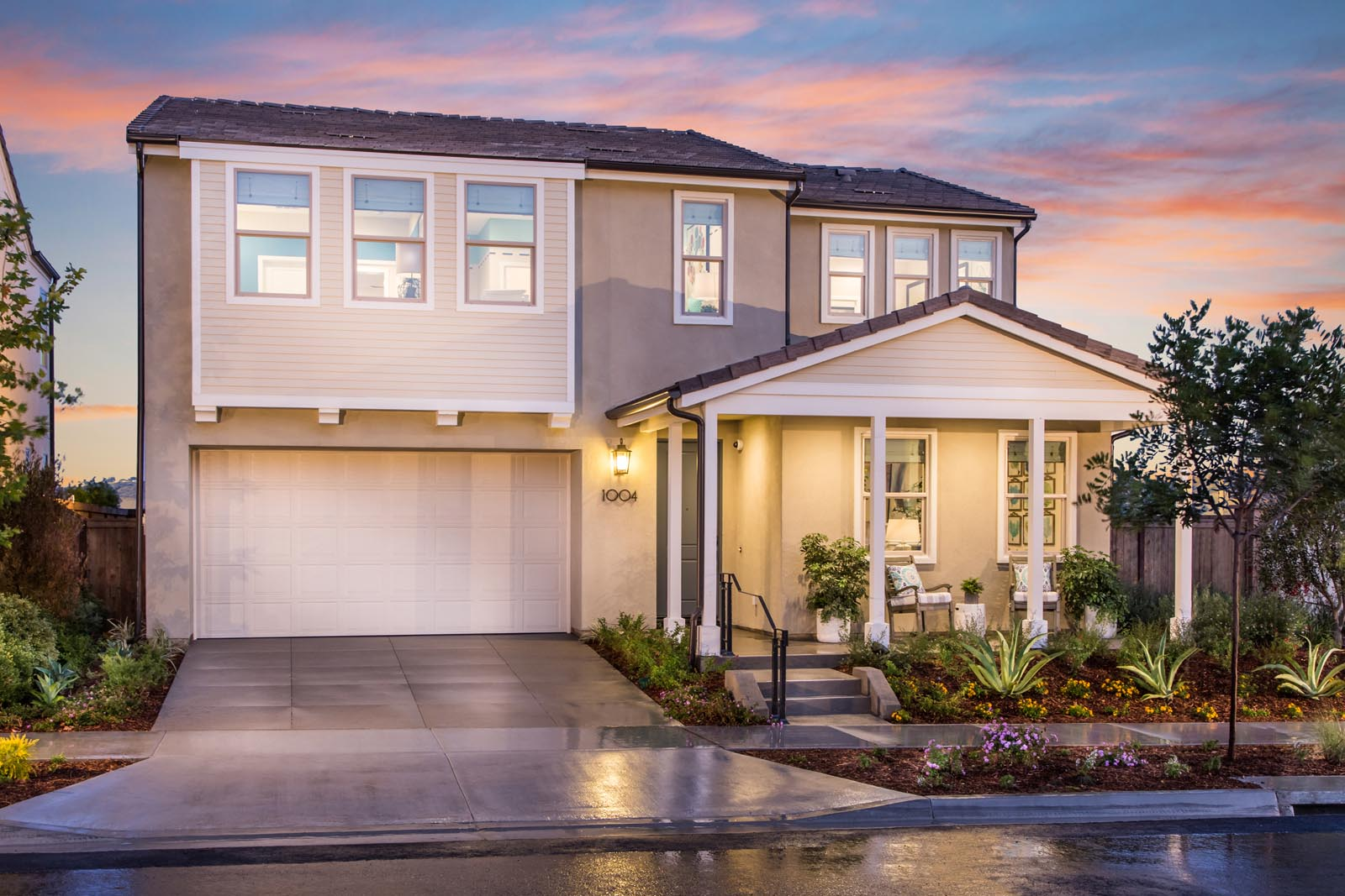 Residence 1 Exterior | Prado at the Village of Escaya in Chula Vista, CA | Brookfield Residential