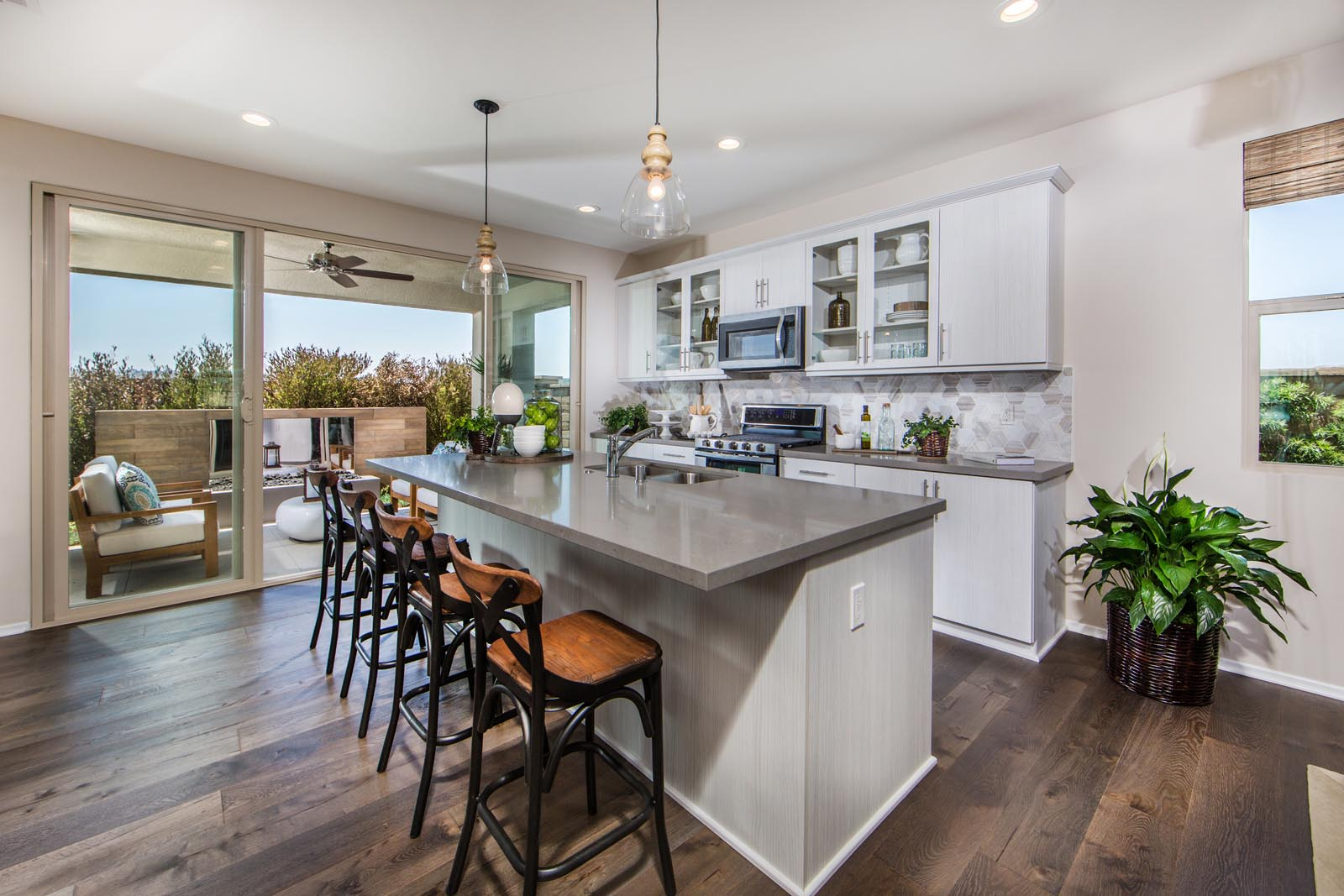 Residence 1 Kitchen | Prado at the Village of Escaya in Chula Vista, CA | Brookfield Residential
