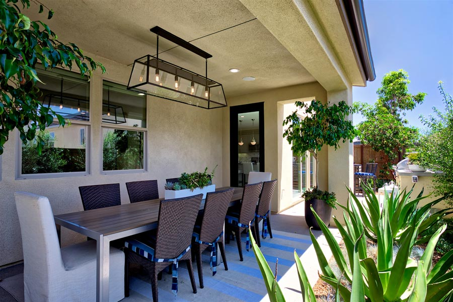 Residence 2 Back Yard | Prado at the Village of Escaya in Chula Vista, CA | Brookfield Residential
