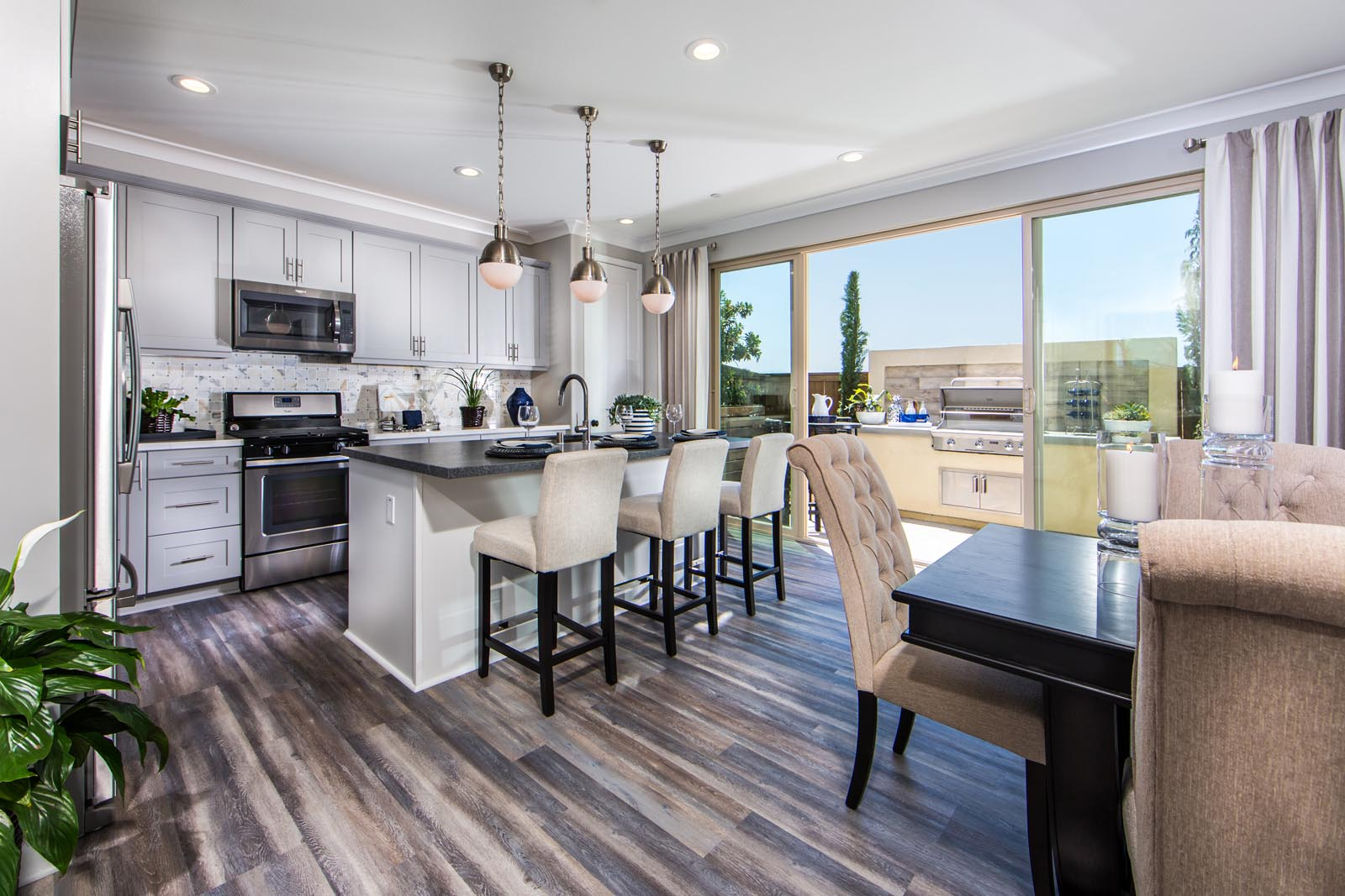 Residence 2 Kitchen | Prado at the Village of Escaya in Chula Vista, CA | Brookfield Residential