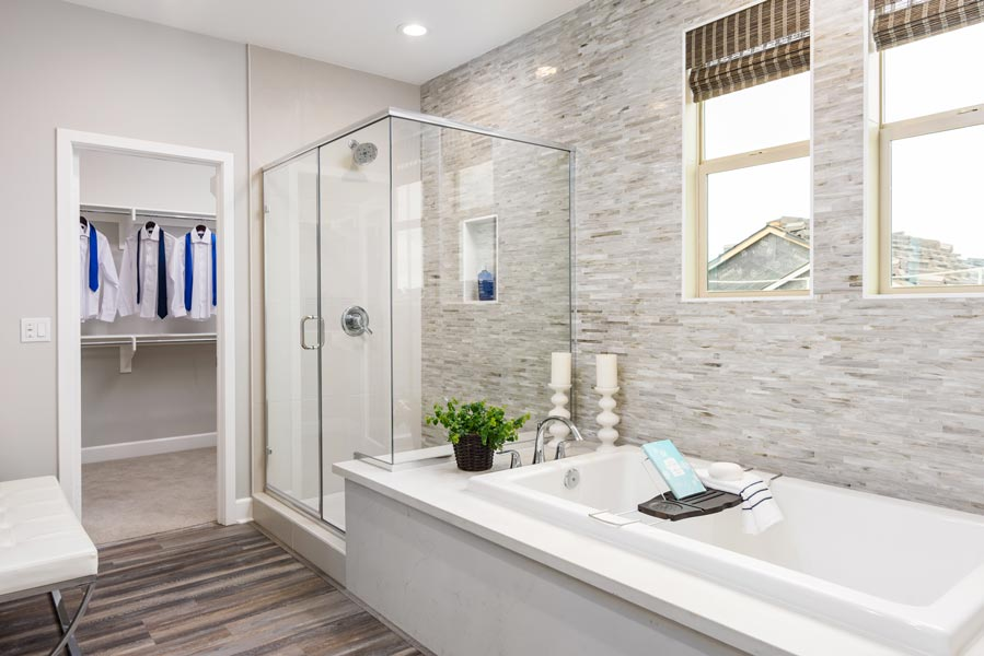 Residence 2 Master Bath | Prado at the Village of Escaya in Chula Vista, CA | Brookfield Residential